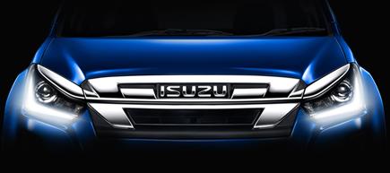 isuzu d max headlight